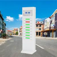 China Electric Type Mobile Phone Charging Station Signal Advertising Locker wholesale