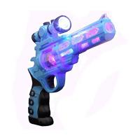 Buy cheap Commercial Plastic Music Light Up Toy Gun With Flashlight Safe OEM Service from wholesalers