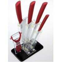 China Fashion Shape Red Acrylic Knife Block With Quick Delivery wholesale