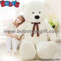 "China 55"" Wholesale Price White Giant Push Bear Animal Toys as Christmas Gift wholesale"