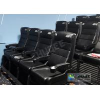 China Update 4D Theater Equipment Seats With Three Ultra Features And Physical Effect Technology wholesale