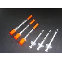 China Disposable Insulin Syringe on sale