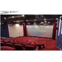 China Customized 36 / 50 / 120 Persons 4D Movie Theater Cinema With Motion Theater System wholesale