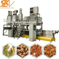 China Puffing Snack Dog Food Extruder Machinery Plant Siemens Motor Screw Conveyor wholesale