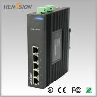 China Fanless Dinrail Industrial Level Ethernet Network Switch For Plug And Play wholesale