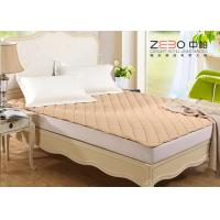 China Different Color Hotel Mattress Protector Microfiber With Elastic Bands At 4 Corners wholesale