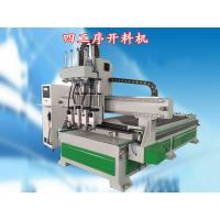 China 4th Axis Automated Wood Cutting Machine With USB Port To Transfer Program on sale