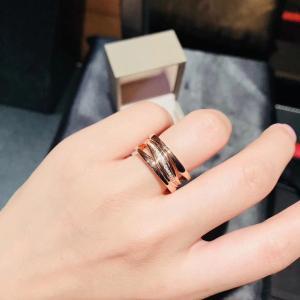 China Four Band  B Zero1 / Zaha Hadid Ring Rose Gold For Enterprise Banquet wholesale