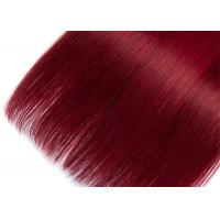 Quality 1B99J Real Human Hair Straight 3 Bundles Unprocessed Human Hair Bundles With for sale