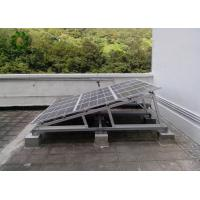Buy cheap Simple Triangle Shape Flat Roof Solar Mounting Systems Traditional Type Foldable from wholesalers