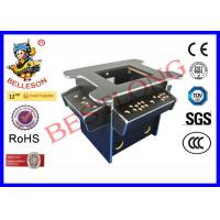 China Black Diy Arcade Game Machine , 3 Side Coin Operated Arcade Machines wholesale