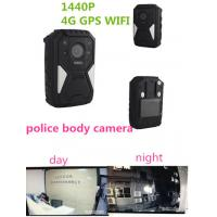 China OEM 1440P Wearable Wifi Camera / Waterproof Live Streaming Body Camera With 4g Gps wholesale