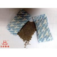 China Odorless Moisture Proof Mineral Desiccant 10g Non Woven Packing With Round Granular wholesale