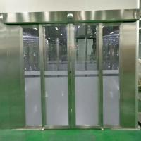 China Clean Room Air Shower System With Auto Sliding Doors For People And Goods wholesale