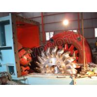 Quality impulse water turbine / Pelton Hydro Turbine  for Hydropower Station with Water Heads 80 - 800m for sale
