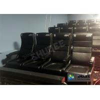 Buy cheap Large Screen 4D Cinema System With Comfortable Pure Hand-Wrapped PU Leather Motion Seats from wholesalers