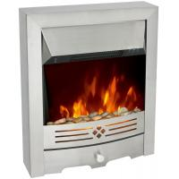 China insert or freestanding electric fireplace stove NDY-19ER stainless steel remote control LED flame effect room heater wholesale