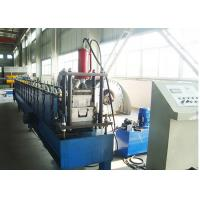 China Aluminium Downpipe Gutter Roll Forming Machines / Gutter Making Machine on sale
