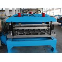 China Hydraulic Tile Roll Aluminum Forming Machine 2-4m/Min 40GP Container wholesale