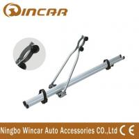 China 135CM pre-assembled Aluminum automotive roof mounted bike carrier wholesale