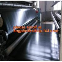 China geomembrane dam liner/ HDPE reinforced hdpe geomembrane fish farm pond liner for sale,dam liner 1mm hdpe geomembrane PAC wholesale