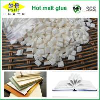 China Pure Milk White Quick Drying Hot Melt Glue Adhesive Granule For Bookbinding wholesale