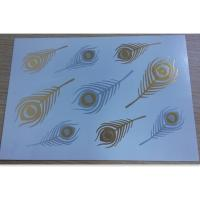 China Shimmer Gold and Silver Temporary Tattoos for women and girls wholesale