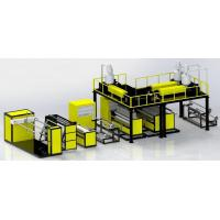 Buy cheap Three Layers Air Bubble Film Making Machine For Plastic Manufacturing from wholesalers