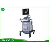 China Half Order Trolley Ultrasound Scanner , Color Ultrasound Machine Acoustic Lens Focus wholesale
