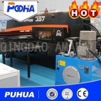 China High Nibbling Rate CNC Hydraulic Punching Machine 800-2000 KN Punch Force wholesale