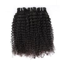 """China Natural Color Peruvian Body Wave Hair BundlesCurly Dancing And Soft 10"""" To 30"""" Stock wholesale"""