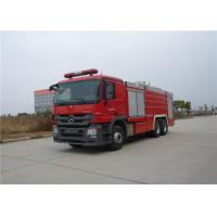China Manual Operation Fire Fighting Truck Max Speed 95KM/H Rear Roof Fire Monitor wholesale