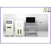 China ASTM Flammability Test Equipment ISO 5658-2 , ASTM E1321 Flame Test Apparatus on sale