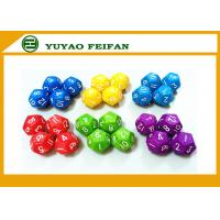 China 18 Different Colors Assorted Colored Polyhedral RPG Dice Game Set 126pcs wholesale