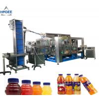 China Juice filling machine with apple mango fruit processing plant aseptic small drink bottling with hot sealing packing mach wholesale
