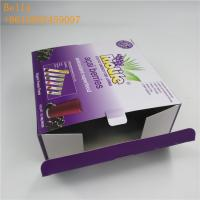 China Custom Printing Paper Box Packaging Cardboard Counter Display Boxes For Chocolate Bar wholesale