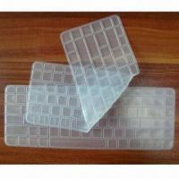 China Silicone Keyboard Protective Film for Notebook and Desktop Computer, in Various Designs and Colors on sale