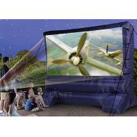 China Lightweight Inflatable Outdoor Projector Screen Fabric Material Apply To Home wholesale