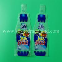 Quality Custom plastic beverage bags, drink bags and water bags, made by Silver Dragon for sale