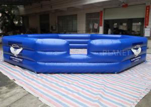 China Air Sealed PVC Custom Size Logo Inflatable Gaga Court For Kids And Adults Inflatable Gaga Ball Pit wholesale