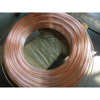 China Coppered welded steel pipe / carbon steel tube for household refrigeration system wholesale