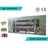 China Fully Auto Molded Plastic Tray Making Machine For Egg Tray / Egg Carton / Seeding Cup Production Line wholesale