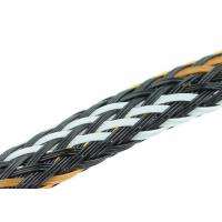 Buy cheap Polyester PET Expandable Braided Sleeving For Protecting Cables / Wire Harnesses from wholesalers