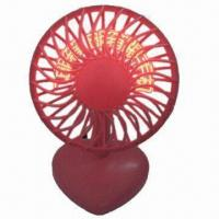 China USB Fan with Words Showing on Fan Page, Sized 130 x 110 x 230mm and Nice Promotional Gifts wholesale