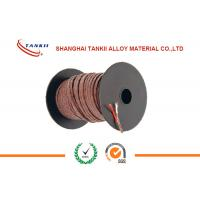 China Iron ( JP ) / Constantan ( JN ) Thermocouple Cable For Industry Instrumentation Heating wholesale