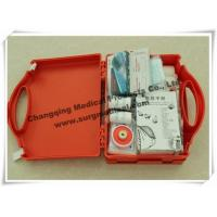 China Waterproof First Aid Kits Plastic Emergency Assistance HSE Complian With Carrying Handle wholesale