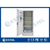 China Sandwich Structure Outdoor Battery Cabinet / Battery Storage Cabinet / Telecom Enclosure With Air Conditioner Cooling wholesale