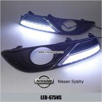 Nissan Sylphy Drl Led Daytime Running Light Car Exterior