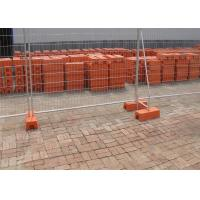 China Removable Pool Safety Fence / Six Foot Chain Link Fence Panels 22.00kg wholesale