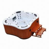 China New Designed 7-person Butterfly Massage Bathtub Whirlpool, Measures 2,200 x 2,200 x 930mm wholesale